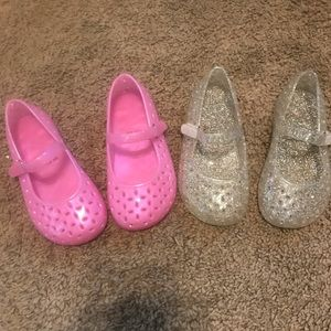 The Children's Place Shoes - 2 pair of jellies